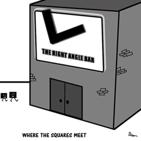 Where the Squares Meet